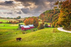 Free Farmland In Vermont Stock Images - 143816854