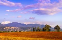 Farmland landscape Royalty Free Stock Photography