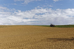 Farmland on a late summer day Royalty Free Stock Image