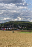 Farmland on a late summer day Stock Images