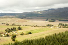 Farmland patchwork Royalty Free Stock Images