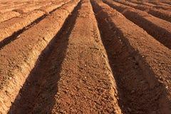 farmland ploughed στοκ φωτογραφίες