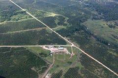 Farmland with Roads Stock Photo