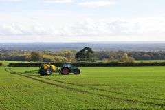 Farmland Scene Stock Photography