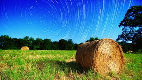 Farmland and Stars Stock Photography
