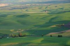 Farmland at sunset Royalty Free Stock Image