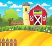 Farmland theme background 1. Eps10 vector illustration Stock Photography
