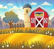 Farmland theme background 2. Eps10 vector illustration Royalty Free Stock Images