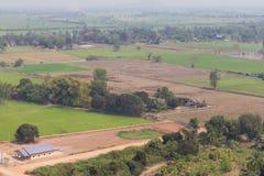 Farmland to housing Royalty Free Stock Photography