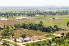 Farmland to housing Royalty Free Stock Photos