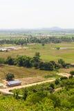 Farmland to housing Royalty Free Stock Photo