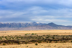 Farmland. Of Valley of Fires, New Mexico, USA Royalty Free Stock Image