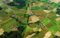 Farmlands in Germany. Stock Photography