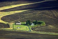 Farmlands of Palouse Royalty Free Stock Photo