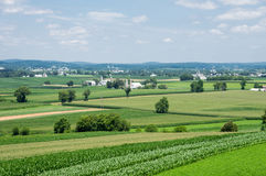 Farmlands Royalty Free Stock Photo