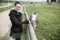 Farmmädchen Lizenzfreie Stockbilder