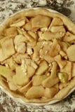 FarmorSmith Apple Pie Tart Overhead sikt arkivbild