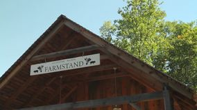 Farmstand stock footage