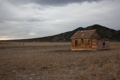 Farmstead. Old and abandoned, Nevada Royalty Free Stock Photography