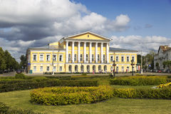 The farmstead house of 19 century, which belonged to Lieutenant General Borshchov Royalty Free Stock Images