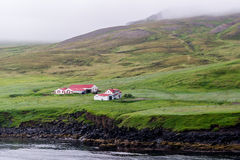 Farmstead in Iceland Stock Photography