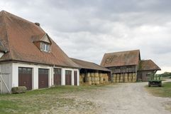 Farmstead in Southern Germany Stock Image