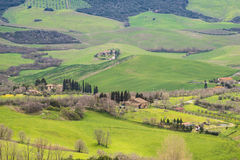 Farmstead in Tuscany Royalty Free Stock Image