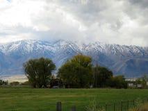 Farmy góra Obraz Royalty Free