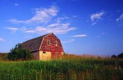 farmyard амбара старый Стоковая Фотография RF