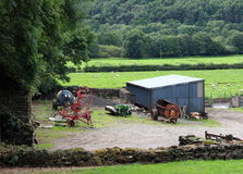 farmyard Arkivbilder