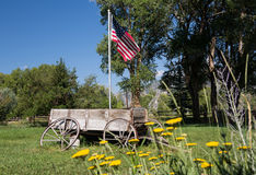 Farmyard i fura Mt Princeton CO Obrazy Royalty Free