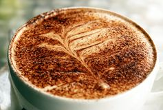 Farn-Kaffee Stockbilder