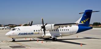 Farnair Europa, ATR 42-320 Stock Foto