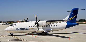 Farnair l'Europe, ATR 42-320 Photo stock