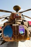 Farnborough Airshow 2010 - Helipcopter militar Foto de archivo libre de regalías