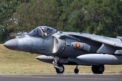 Spanish Navy Armada Española McDonnell Douglas EAV-8B Harrier Jump Jet aircraft royalty free stock images