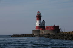 Farne Island Lighthouse Stock Images