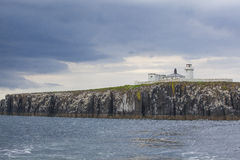 Farne Islands lighthouse Royalty Free Stock Image