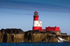 farne latarnia morska Zdjęcia Royalty Free