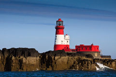 Farne Lighthouse Royalty Free Stock Photos