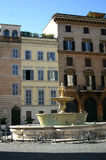Farnese's square in Rome Royalty Free Stock Image