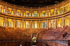 Farnese theatre in Parma, Emilia Romagna, Italy. Royalty Free Stock Photography