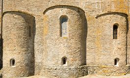 Farneta abbotskloster i 1014 i Cortona, Tuscany Royaltyfri Bild