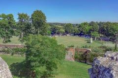 Farnham城堡在萨里 库存照片