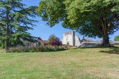 Farnham城堡在萨里 免版税库存照片