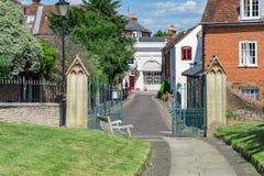 Farnham dans Surrey Photographie stock libre de droits