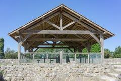 Farnham kasztel w Surrey Zdjęcia Royalty Free