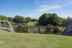 Farnham-Schloss in Surrey Lizenzfreies Stockbild