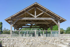 Farnham-Schloss in Surrey Lizenzfreie Stockfotos
