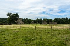 Waverley Abbey Ruins Royalty Free Stock Photos